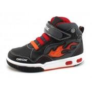 Geox J Gregg sneaker Zwart GEO67