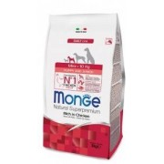 Monge Mini Puppy & Junior Ricco di Pollo 800g