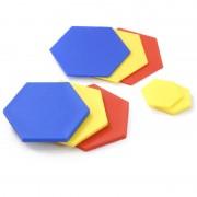 Jocul formelor geometrice, 60 blocuri logice, 4 activitati