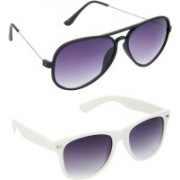 Redleaf Aviator, Wayfarer Sunglasses(Grey)