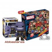 Thanos Con Rompecabezas Marvel Funko Pop Avengers Infinity War