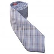 Distino Of Melbourne Slim Nude Silk Necktie Light Blue NS7