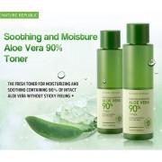 Soothing & Moisture Aloe Vera 90% Toner - Nature Republic