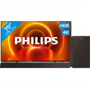Philips 70PUS7805/12 + Soundbar