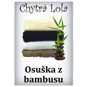 Chytrá Lola - Osuška ze 100 % bambusového vlákna (BO01) - světle hnědá