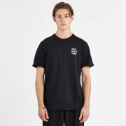 Reigning Champ Speed Vs Power Cut Off Crewneck Lweight Terry Black/White