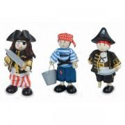 Le Toy Van® Set 3 Figurines Poupées Pirates Budkins Le Toy Van® - Jouets en bois