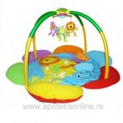 Biba Toys bebi gimnastika veseli drugari iz džungle, 6350006