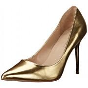 Pleaser Women s CLAS20 GMPU dress Pump Gold/Metallic Polyurethane 12 B(M) US