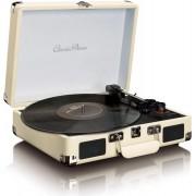 Gramofon retro LENCO TT-11 White, sa zvučnicima, Bluetooth