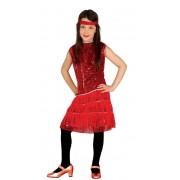 Guirca Disfraz de Charleston para niña - Talla 7 a 9 años
