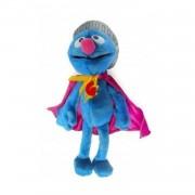 Pluche Sesamstraat Super Grover knuffel 25 cm