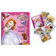 2015 Sofia the First and Friends Panini Sticker Album with 1-Pack Stickers Starter Kit