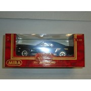 Mira Golden Line Collection 1:18 scale 1965 Ford Mustang Back and Red die cast metal
