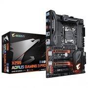 Gigabyte x299 AORUS Gaming 3 Pro moederbord Zwart