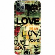 Husa silicon pentru Apple iPhone 11 Pro Love Artwork