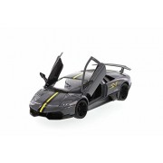 Motor Max Lamborghini Murcielago LP670-4 SV, Dark Gray - Motormax 73350SV 1/24 Scale Diecast Model Toy Car