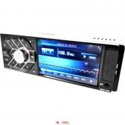 Radio De Mașina MP5 Cu Bluetooth si Car Kit cu Telecomanda pe volan SMR4124 + Car Holder