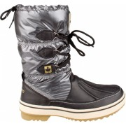 Winter Grip Snowboots Lace Up Antraciet Dames Maat 39