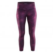Pantaloni CRAFT pur imprimare 7/8 1903589-1045 - violet imprimare
