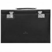 Windrose Merino Caja para joyas joyero 36 cm negro