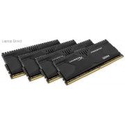 Kingston HX426C13PBK4/32 Hyper-x Predator 32GB(8Gb x 4) DDR4-2666 CL13 1.2v Desktop Memory Module