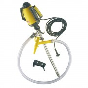 Lutz Behälterpumpen-Set, elektrische Pumpe Pumpwerk aus Niro (rostfreier Stahl) Tauchtiefe 1000 mm
