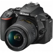 Nikon D5600 DX-Format Digital DSLR, w/ 18-55mm VR Black, 24.2MP,5fps, ISO to 25,600, HD