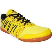 Port Men's Trendz916 Yellow Gray Mesh Sports Shoes