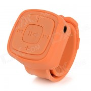 Portatil reloj deportivo estilo reproductor de MP3 w / TF? de 3?5 mm? Mini USB - Orange