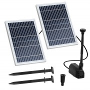 Solar Powered Pond Pump - 1,350 L/hr