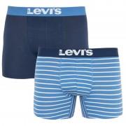 Levis 2PACK pánské boxerky Levis modré (905011001 003) XL