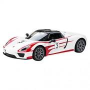 Costzon 1/14 Porsche 918 Spyder Licensed Electric Radio Remote Control RC Car w/Lights