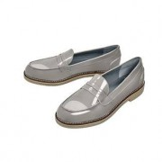 Arcus® Penny Loafers, 6 - Grey