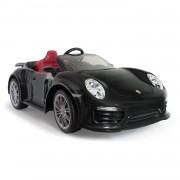 Injusa accuvoertuig Porsche 911 Turbo S iMove 12V 132 cm zwart