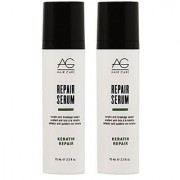 AG Hair Keratin Repair Serum Keratin Anti-breakage Sealant 2.5oz Pack of 2