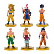 Japón Animado Dragon Ball 1Ponga (1Ponga = 6Pcs) Figuras Juguetes Muñecas Modelo Grande De La Muñeca, 4,72 & Quot; Altura (Tamaño: 12)