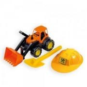 Детски строителен комплект с булдозер, 10593 Mochtoys, 5907442105933