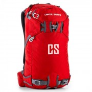 Capital Sports Dorsi Mochila deportiva 30l impermeable nailon rojo (BP2-Dorsi)