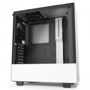 Кутия NZXT H510i Smart Matte Mid-Tower, White/Black, NZXT-CASE-H510I-W1