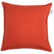 Schöner Wohnen Kissenbezug Lino 38 x cm Orange Mischgewebe