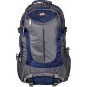 Active Sport Rugzak 30 liter donker grijs met blauw
