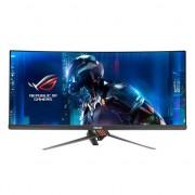 "Monitor Gaming LED ASUS ROG 34"", Curved, WQHD, Display Port, HDMI, Negru, PG348Q"