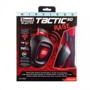 Sound Blaster Tactic3D Rage Wireless Headset, Black