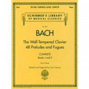 G. Schirmer - J.S. Bach: The Well-Tempered Clavier - Complete