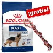 Royal Canin Size 15 kg + Cuerda Trixie doble ¡gratis! - Maxi Light Weight Care (15 kg)
