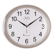 Přesné moderní rádiem řízené hodiny JVD RH64.5