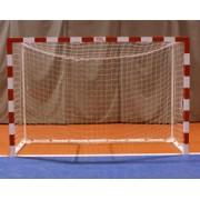 Jogo de Porterias Futebol-Salga e Balonmano Metálicas Trasladables