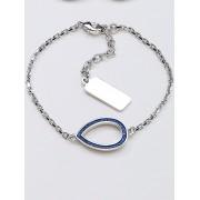 Uta Raasch Dames Armband met kristallen van Swarovski® Van Uta Raasch zilverkleur