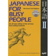 Japanese for Busy People II: Revised 3rd Edition [With CD (Audio)], Paperback